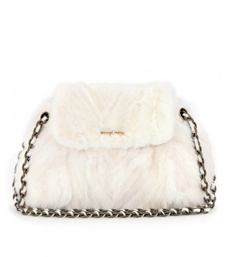 Marc Jacobs Mae mink fur shoulder bag