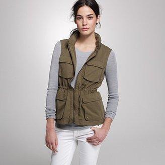 J.Crew Twill utility vest