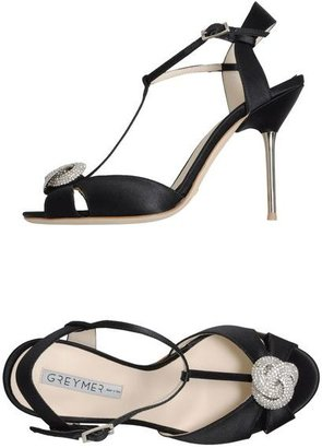 Grey Mer High-heeled sandals