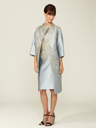 Carolina Herrera Evening Embellished Coat