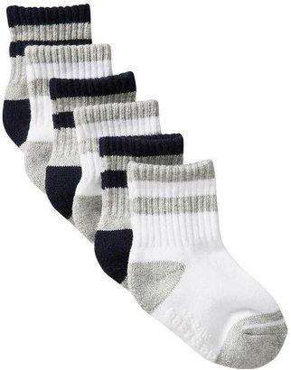 Gap Striped tube socks (6-pack)