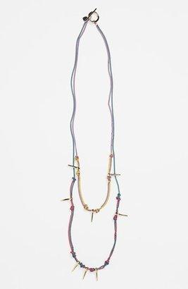 Bonnie Jonas Spiked Multistrand Necklace