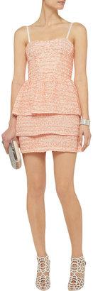 Alice + Olivia Shellyanne tweed dress