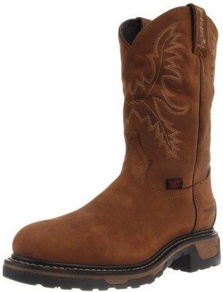Tony Lama Boots Men's Waterproof Steel Toe TW1006 Work Boot