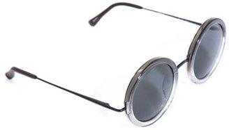 The Row Round dual-tone sunglasses