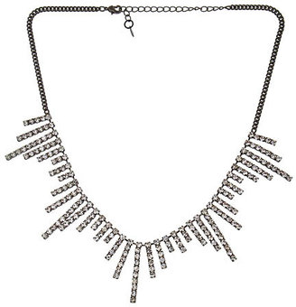 Yochi Rhinestone Starburst Necklace