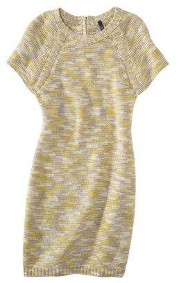 labworks Petites Short-Sleeve Sweater Dress - Lime