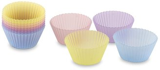 Williams-Sonoma Silicups, Set of 12, Pastel Colored