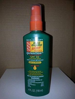 Avon Skin so Soft Bug Guard Plus Expedition SPF 30 Pump Spray, 4 Ounce $6.99 thestylecure.com