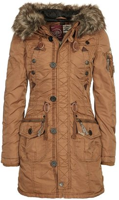 Khujo CLAIRE Parka brown