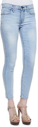 Current/Elliott Stiletto Faded Skinny Jeans, Clear Water