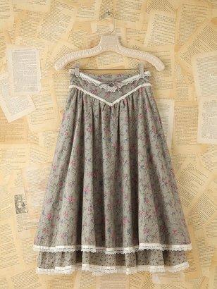Free People Vintage Floral Midi Skirt