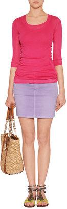 Closed Walker Skirt in Faded Purple