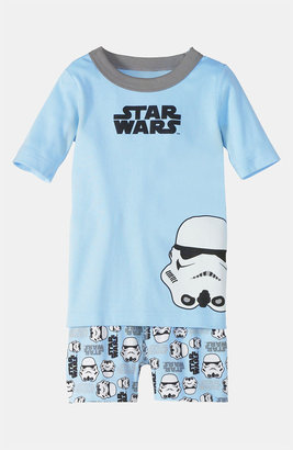 Hanna Andersson Two Piece Fitted Short Pajamas (Little Boys & Big Boys)