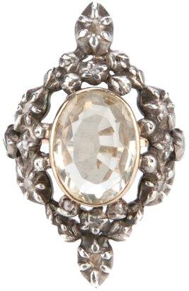 Merchant Archive Vintage 'Georgian Citrine' ring