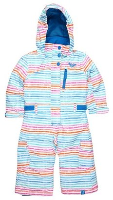 Roxy Kids - Cold Spell One-Piece Suit (Toddler/Little Kids) (Washed Stripe) - Apparel