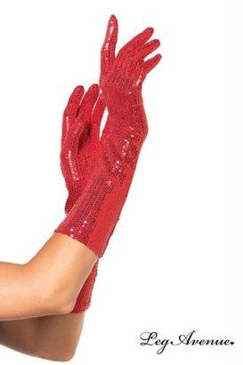 Leg Avenue Sequin Elbow Length Gloves
