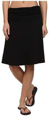 Toad&Co Chaka Skirt (Black) Women's Skirt