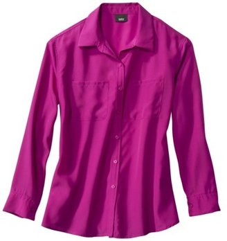Mossimo Women's Button Down Blouse - Assorted Colors