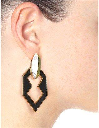 Eddie Borgo Gold Plated Link Earrings