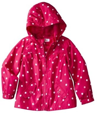 Circo Infant Toddler Girls' Polka Dot Windbreaker Jacket