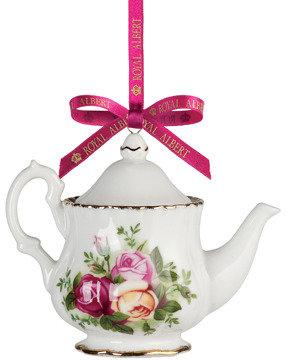 Royal Albert Old Country Roses Teapot Ornament