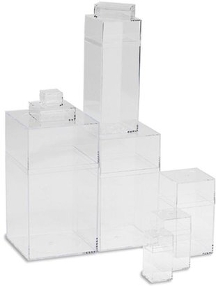 Container Store Amac Box Clear