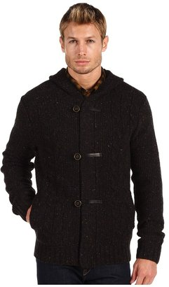 Vince Toggle Sweater (Black) - Apparel