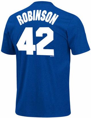 Majestic Men Jackie Robinson Brooklyn Dodgers Player T-Shirt