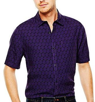 Claiborne Short-Sleeve Rayon Shirt