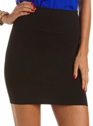 Charlotte Russe Knit Body-Con Skirt