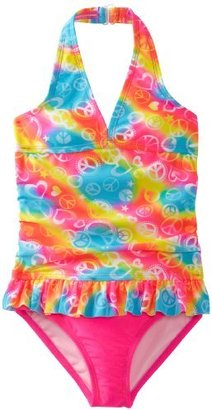 Angel Beach Girls 2-6X Happiness 1 Piece Swimsuit