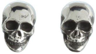 King Baby Studio - Skull Post Earrings Earring $145 thestylecure.com