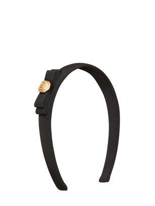 Salvatore Ferragamo Grosgrain Cotton Bow Headband