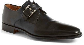 Magnanni Marco Plain Toe Monk Shoe