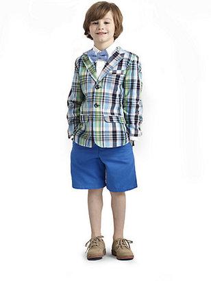 Hartstrings Toddler's & Little Boy's Plaid Blazer
