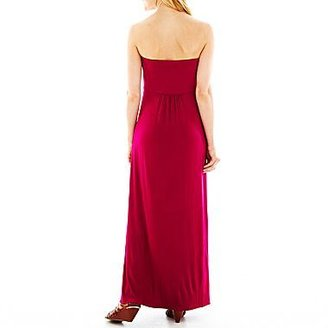 JCPenney U Knits a.n.a Beaded Maxi Dress