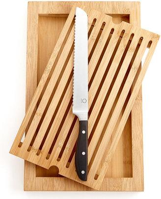 Martha Stewart Collection 2-Piece Bread Knife & Cutting Board Set