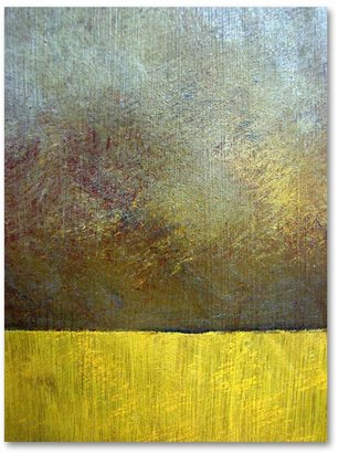 """STUDY """"Eh II"""" 47"""" x 35"""" Canvas Wall Art by Michelle Calkins"""