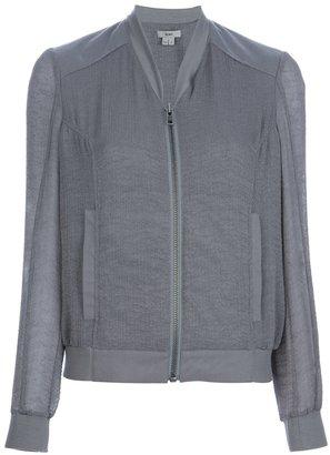 Helmut sheer bomber jacket