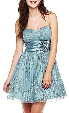 JCPenney Beaded Glitter Emma Dress