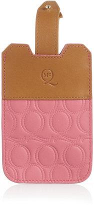 McQ Debossed leather iPhone 4 sleeve
