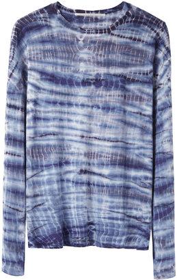 Proenza Schouler long sleeve tie-dye tee