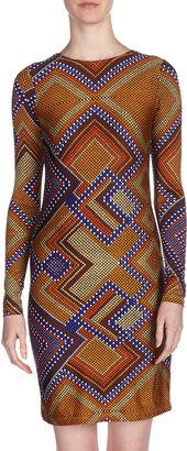 Julie Brown JB by Morgan Cobra-Print Jersey Dress