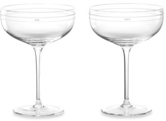 Kate Spade Darling Point Champagne Glasses - Set of 2