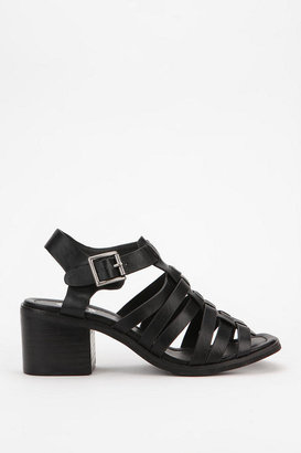 Urban Outfitters Ecote Sarah Caged Leather Sandal