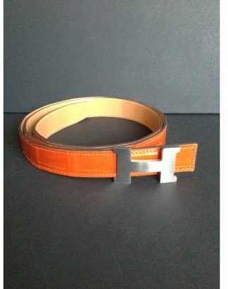 Hermes pristine (PR H Constance Buckle, with Fitted Crocodile Belt