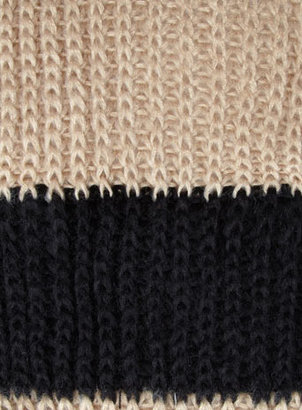Dorothy Perkins Camel stripe knitted snood