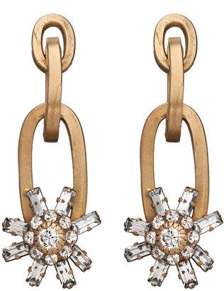 Janis Savitt Janis by Starburst Drop Earrings