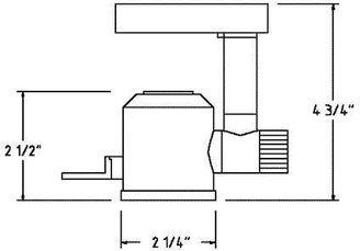 W.A.C. Lighting Model 846 Low Voltage Track Lighting